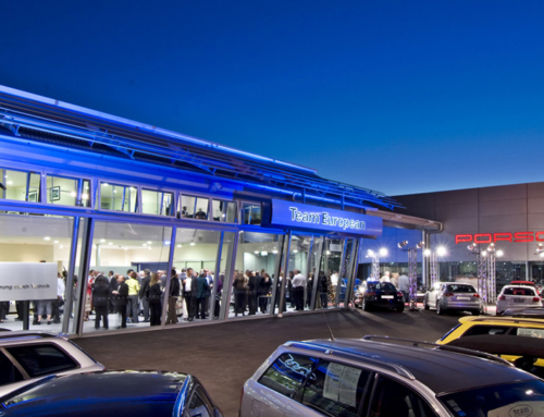 Porsche and Audi Showrooms