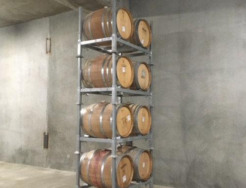First barrels in the cellar!