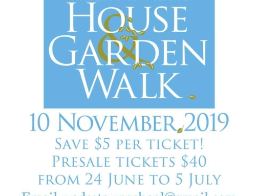 2019 Wadestown School House and Garden Walk